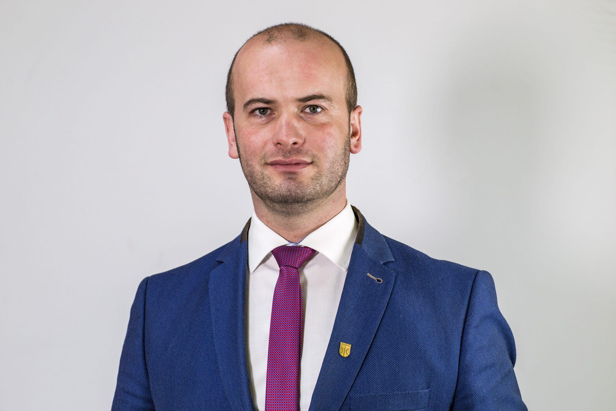 zdjęcie Burmistrza Świecia Krzysztofa Kułakowskiego