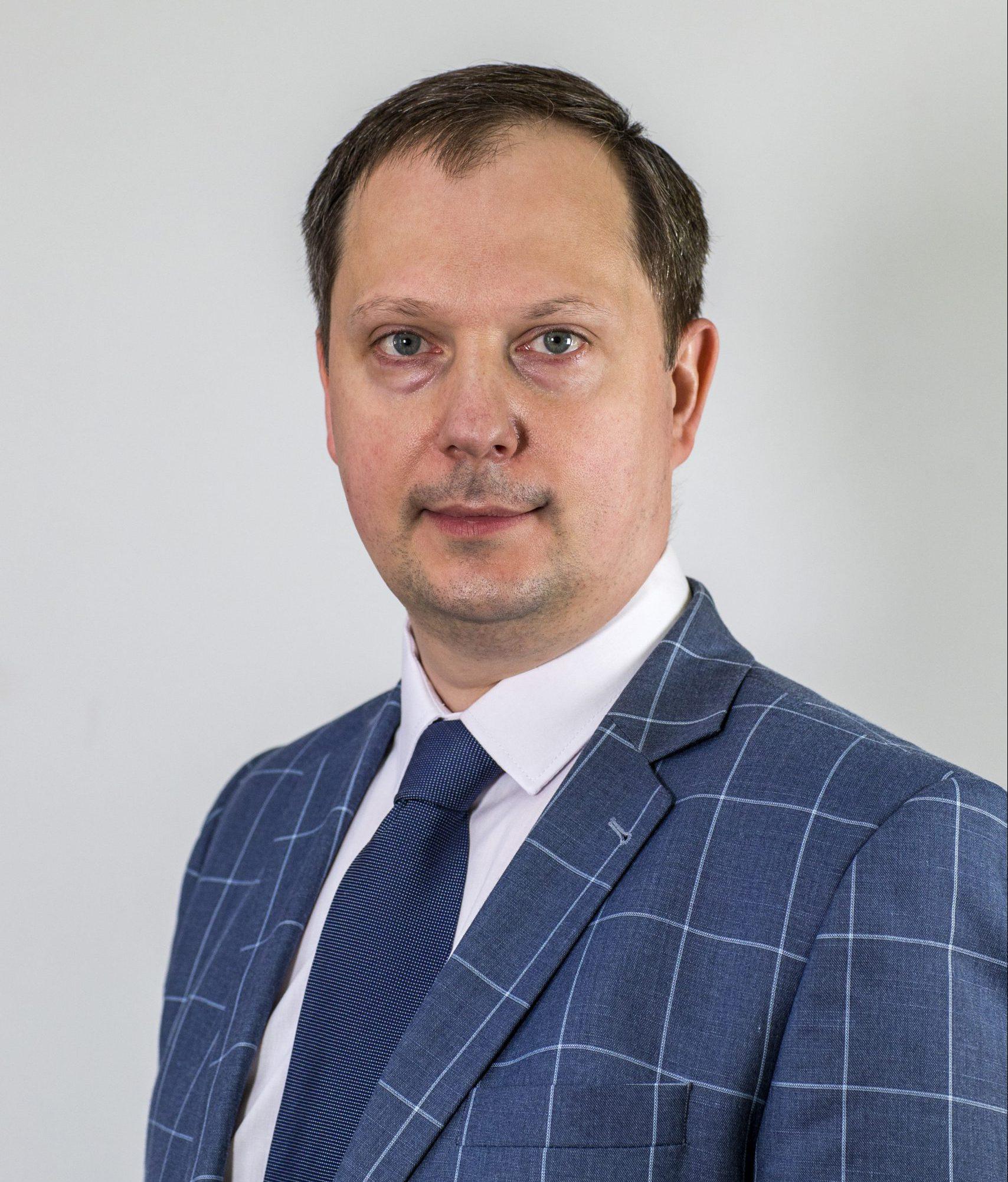 zdjęcie zastępcy Burmistrza Pawła Knapika