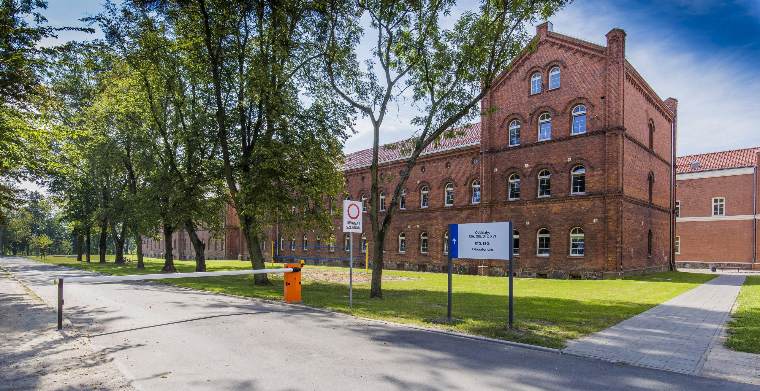budynek jednego z oddziałów Wojewódzkiego Szpitala dla Nerwowo i Psychicznie Chorych