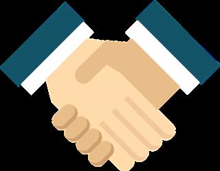 uścisk dłoni w geście współpracy