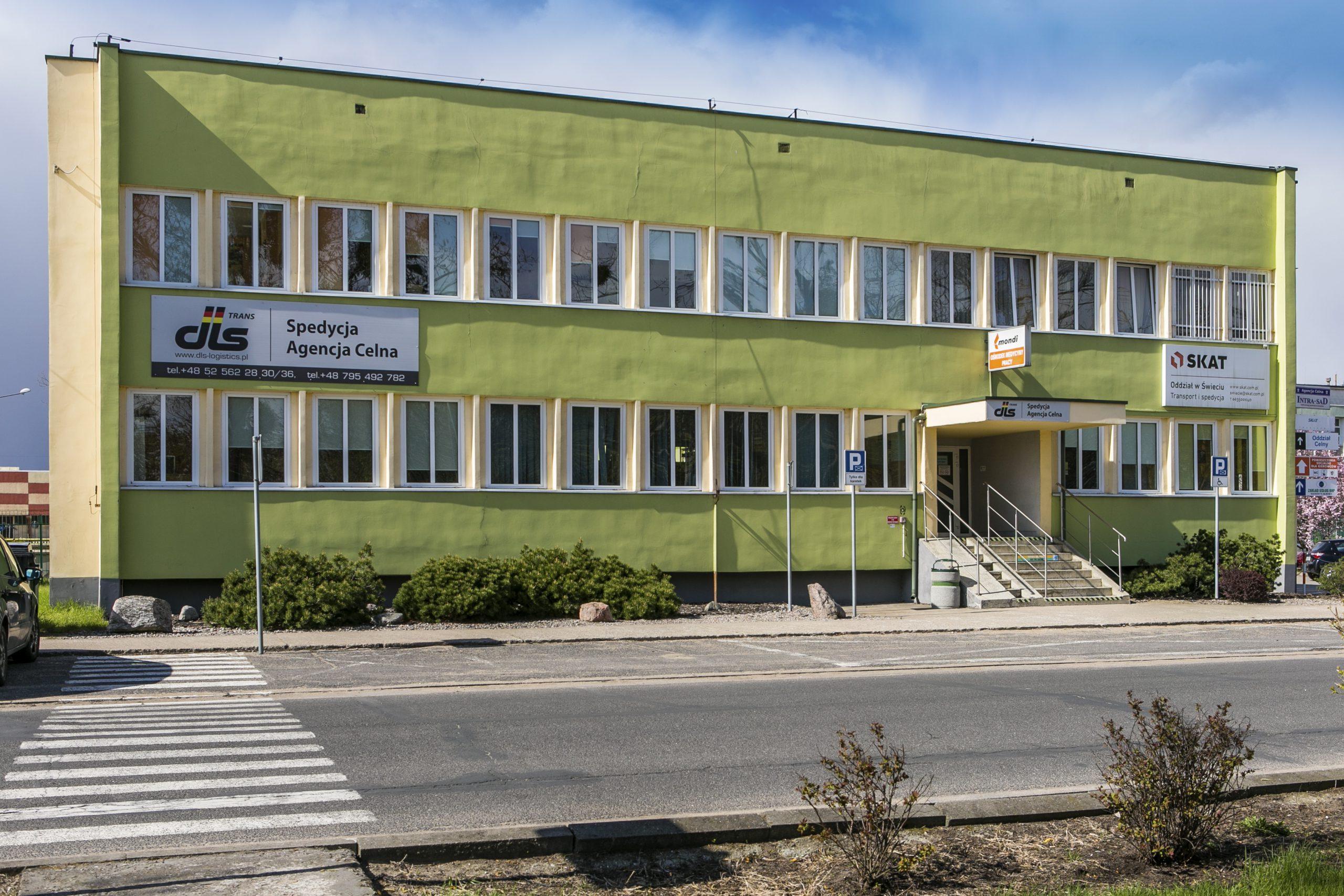 budynek NZOZ Prywatny Ośrodek Medycyny Pracy