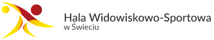 logo Hali Widowiskowo Sportowej w Świeciu