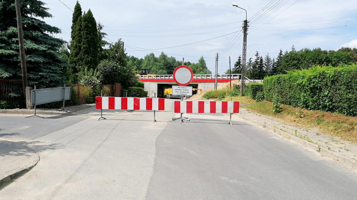 Zakaz ruchu na ulicy