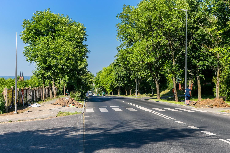 oświetlenie przejścia dla pieszych