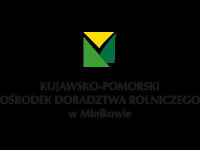 logo kujawsko-pomorskiego Ośrodka Doradztwa Rolnego w Minikowie