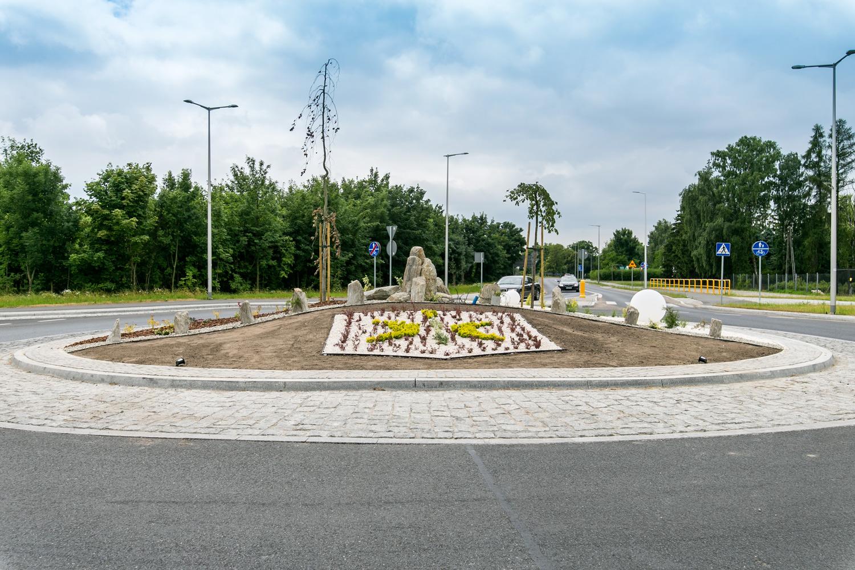 Rondo na ulicy Wojska Polskiego