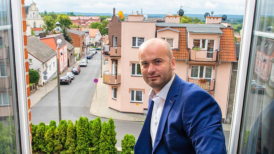 Burmistrz Krzysztof Kułakowski