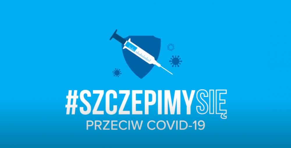 obrazek reklamujący szczepienie przeciwko COVID-19
