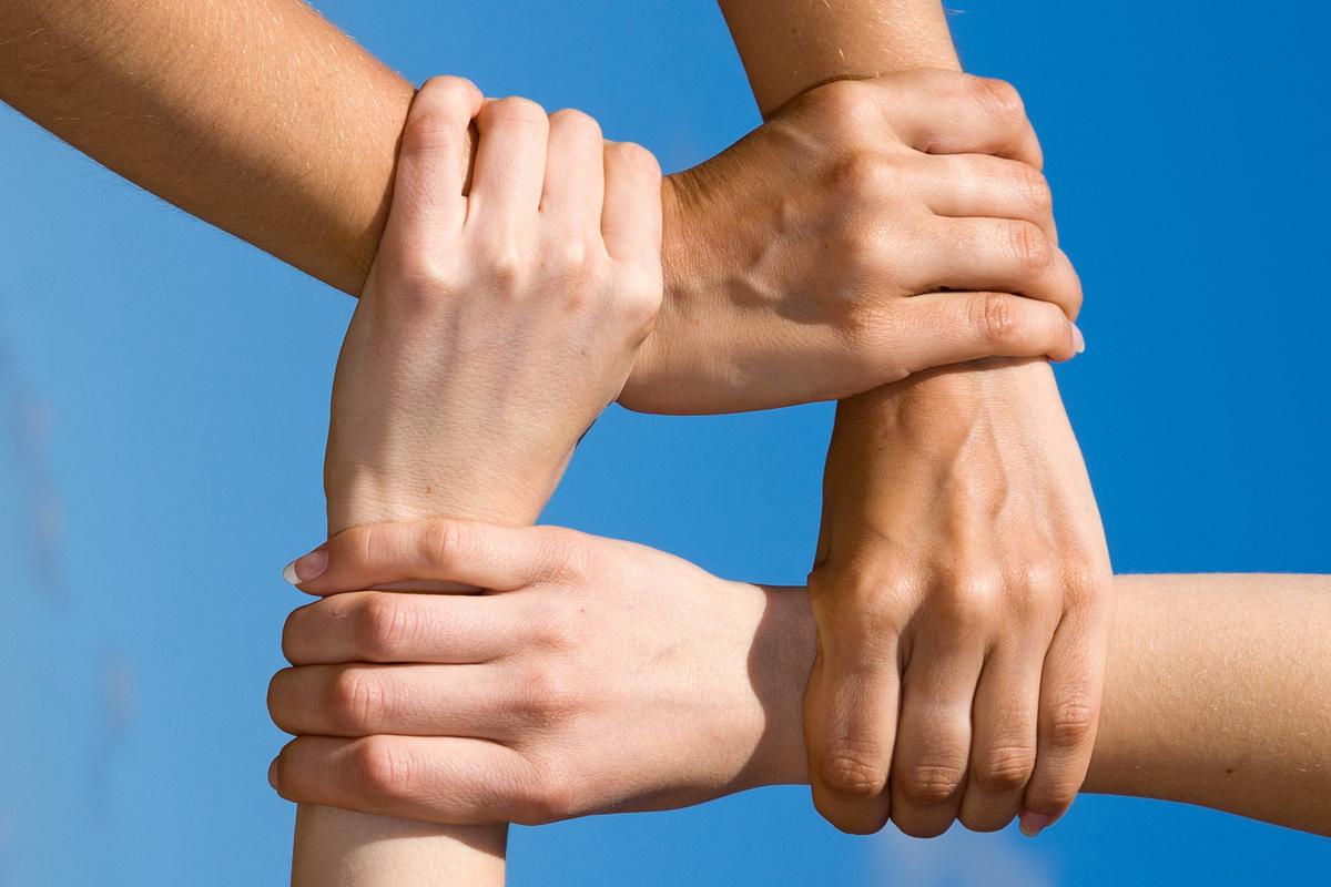 Ręce, wspólne działania